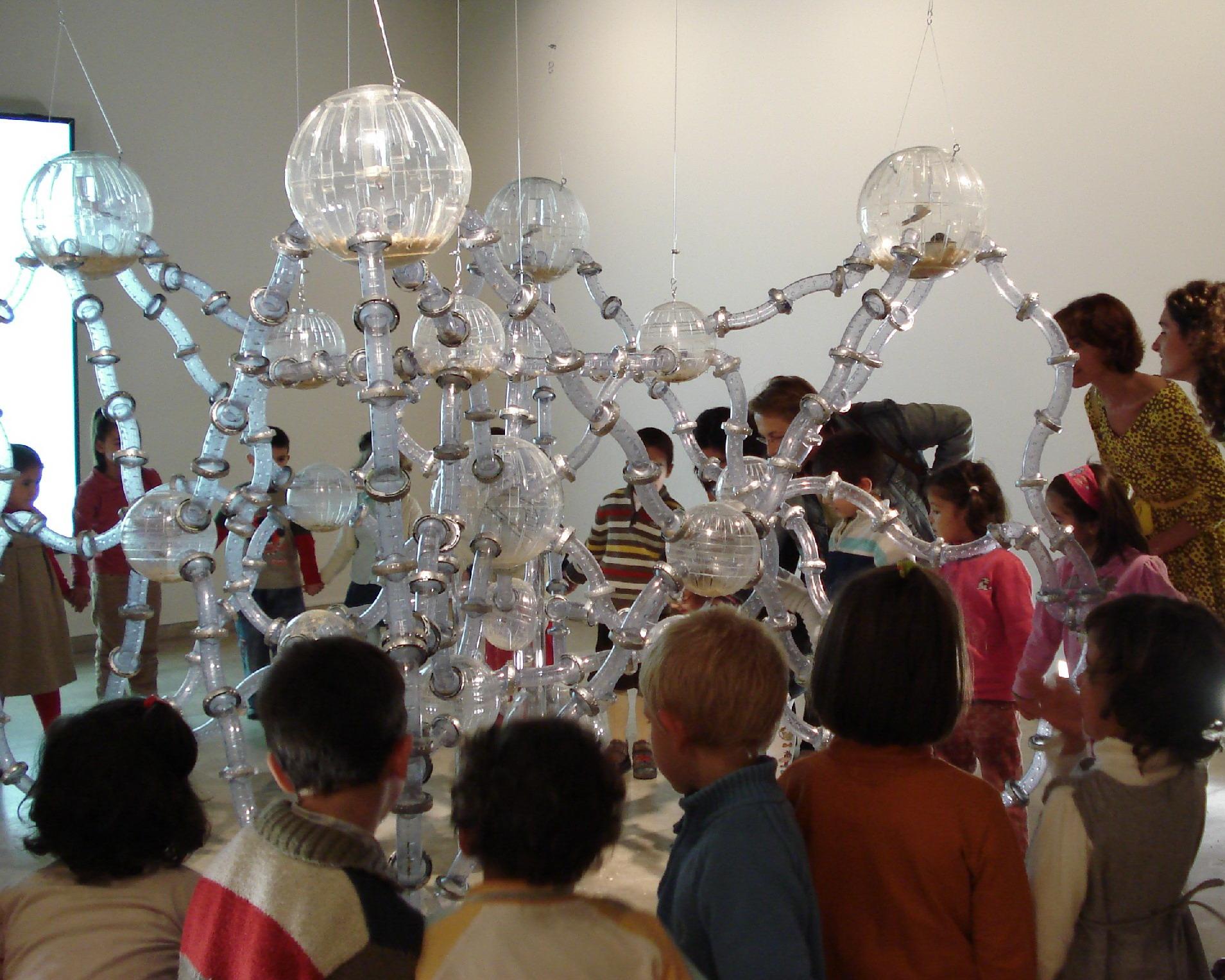 En el museo disfrutamos de la obra como un acontecimiento