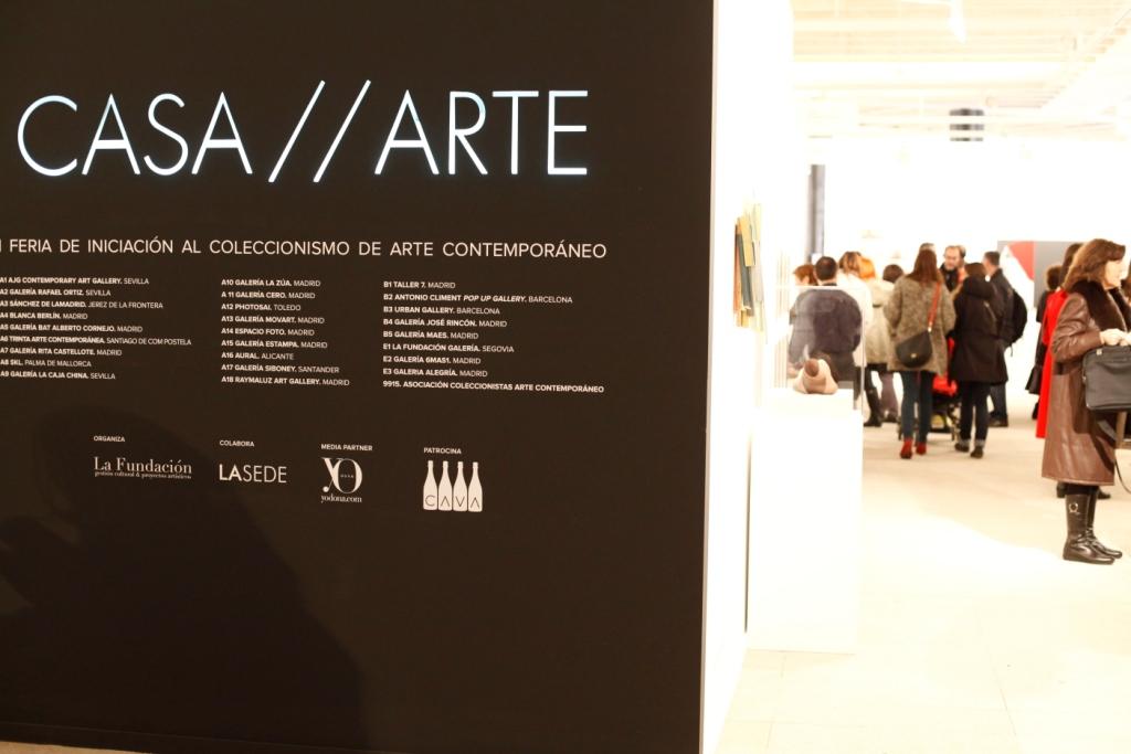 CASA//ARTE Feria de Iniciación al Coleccionismo de Arte Contemporáneo