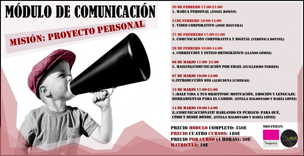 Módulo de Comunicación. Misión: Proyecto Personal