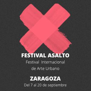 Festival Asalto. Festival Internacional de Arte Urbano