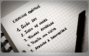 Ejercicios prácticos. Imagen realizada por Almudena López Molina. Extraída del texto reseñado.