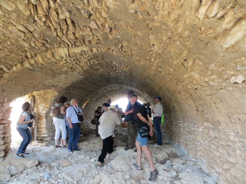 Visita técnica del proyecto Patrimoni al Corral de Ramada en Sant Rafel del Riu. Junio de 2015. Foto Toni García.