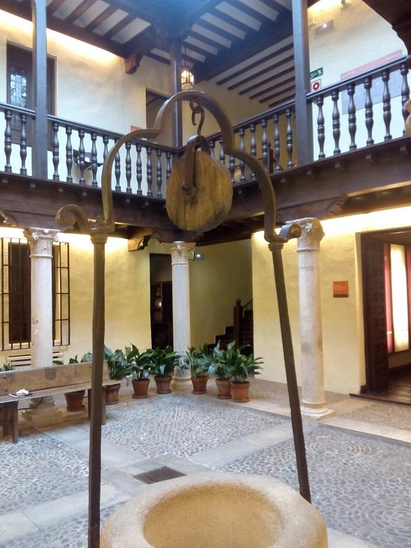 Patio casa natal de Cervantes, Alcalá de Henares