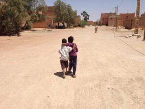 Niños en Taznaqt
