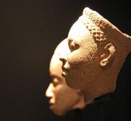 Cabezas antropomorfas. Cultura Ifé. Siglos X al XV d.C. Nigeria
