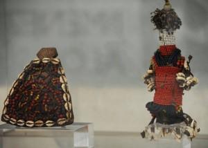 Muñecas rituales. Cultura Masai. Siglo XX. Kenia