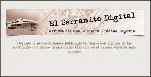 El Serranito Digital. Diario del proyecto Patrimonio Vivo