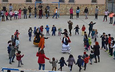 Taller de jotas. Fotografía extraída de la página web del proyecto Patrimonio Vivo