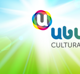 Ubuntu Cultural. Diseño gráfico realizado por Chechu Ciarreta