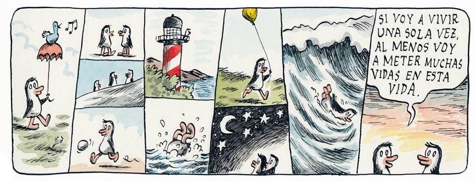Viñeta de Liniers