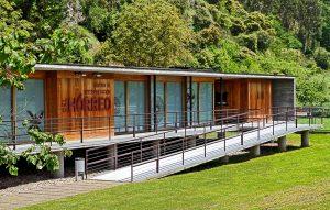 Centro de interpretación del horreo de Güeñu-Bueño. Fotografía de Roberto Álvarez Espinedo.