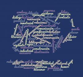 Nube de palabras del taller Vasos Comunicantes