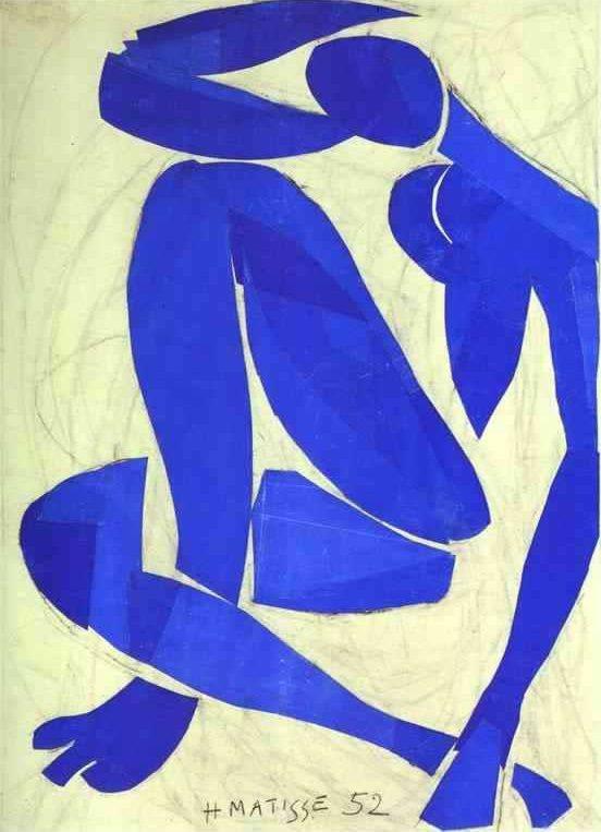 Desnudo azul, Henri Matisse (1952)