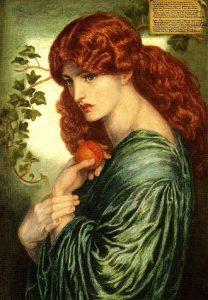 Perséfone, Dante Gabriel Rossetti