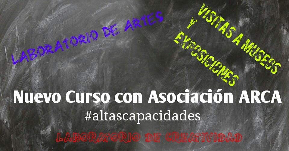 Proyectos para ARCA, curso académico 2017-2018