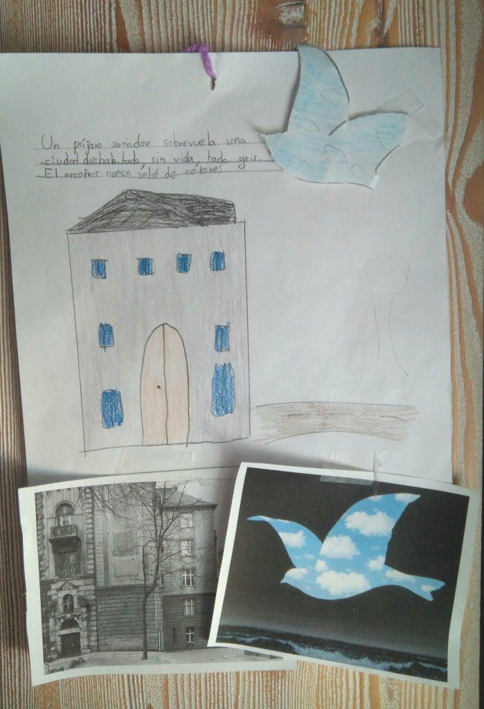 Laboratorio de Arte y Creatividad. Diálogos con el arte. Fotografía propia.