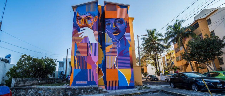 Art district. Mural Dourone