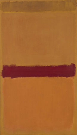 Mark Rothko, Sin título, 1950. Museo Reina Sofía (Madrid).